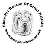 Shar Pei Rescue Of Great Britain Retina Logo